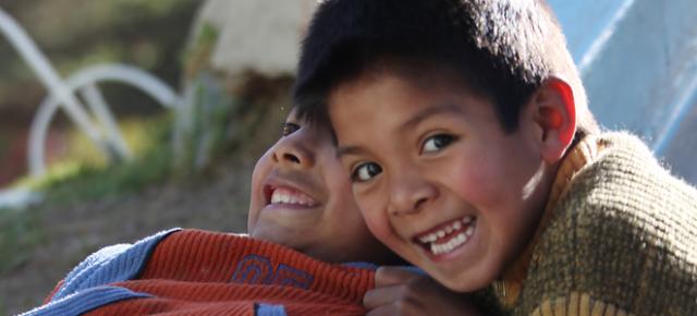 Kinder aus Bolivien