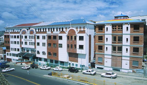 Arco Iris, Kinderkrankenhaus, 01