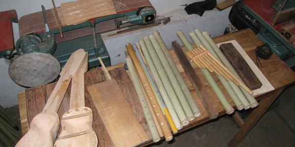 Canto-Sur - Herstellung eigener Musikinstrumente