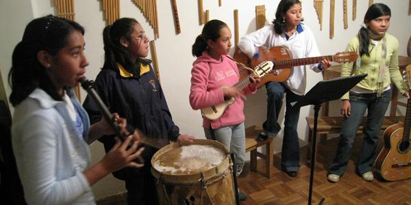 Canto Sur, Mädchengruppe