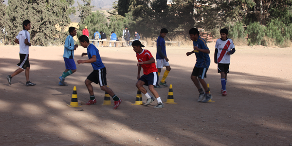 Fussballschule, Training 03