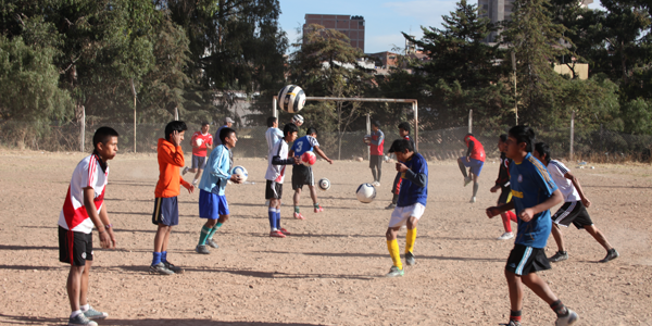 Fussballschule, Training 02