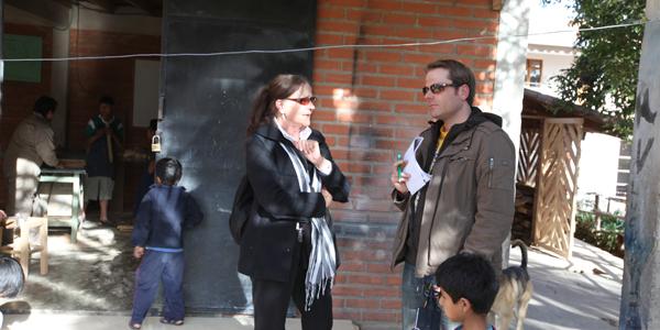 Oqharikuna, Brigitte Pleyer mit Matthias Schaider