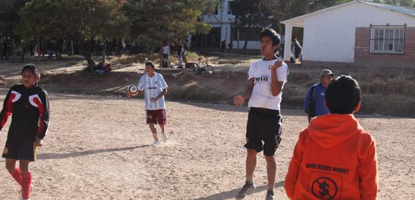 Fussballschule, Training 01