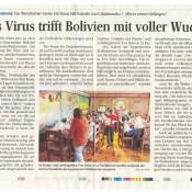 Die Coronasituation in Bolivien